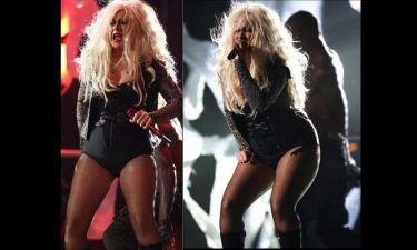 Η τρομαχτική εμφάνιση της Christina Aguilera!