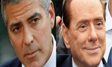 Τι έκανε ο George Clooney στην κρεβατοκάμαρα του Ιταλού πρωθυπουργού;