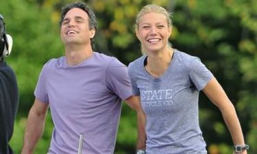 Gwyneth Paltrow και Mark Ruffalo στα πλατό της νέας τους ταινίας