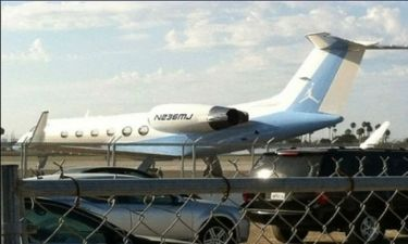 Ο Τζόρνταν έχει το δικό του… αεροπλάνο