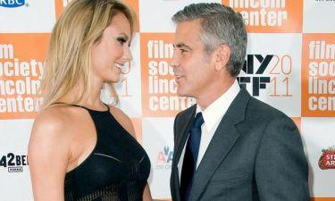 George Clooney: Με τη Stacey Keibler στο κόκκινο χαλί