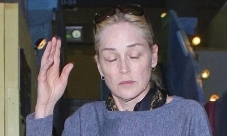 Απίστευτο! Και όμως είναι η… Sharon Stone!