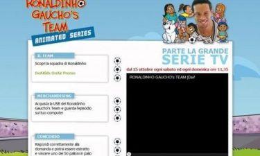 Video: Ο Ροναλντίνιο και η πρεμιέρα του στην ιταλική τηλεόραση