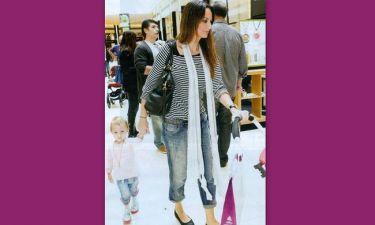 Μπέτυ Μαγγίρα: Για ψώνια με την κόρη της