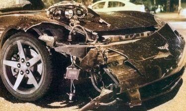 Ποιου διάσημου το αυτοκίνητο έγινε άμορφη μάζα σιδηρικών μετά από σοβαρό τροχαίο;