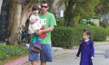 Adam Sandler: Βόλτα με τα κορίτσια του