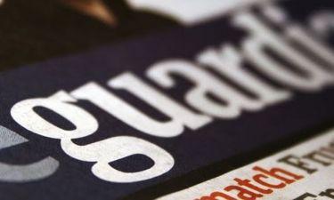 Τεράστια πτώση στην κυκλοφορία της εφημερίδας Guardian