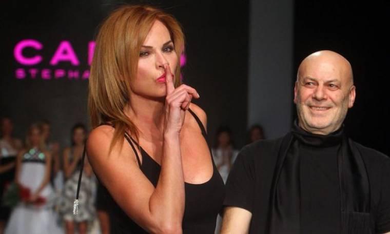 Εντυπωσίασε η πρώην σύζυγος του Alain Delon στην πασαρέλα
