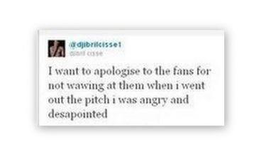 Ο Σισέ ζήτησε συγγνώμη