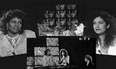 Videos: Όταν η Άννα Βίσση τραγουδούσε με την Gloria Gaynor!