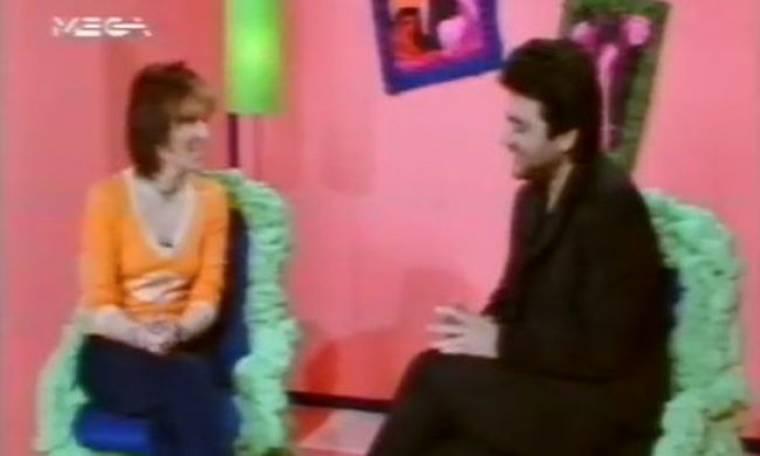 Flashback: Video: Όταν η Ναταλία Γερμανού παρουσίαζε το Mega Star