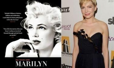 Το νέο πόστερ της Michelle Williams ως Marilyn