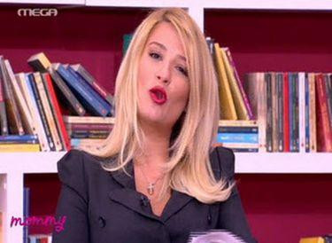 """Φαίη Σκορδά: Μαθαίνει μέσα από την εκπομπή της """"Mommy"""""""