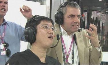 Video: Ο… Mr Bean και οι αντιδράσεις του στην Formula 1