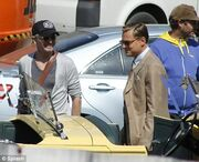 Στα γυρίσματα της νέας ταινίας του Leonardo Di Caprio