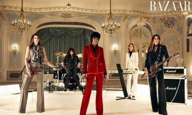 Ποια μοντέλα υποδύονται τους Duran Duran σε φωτογράφηση;
