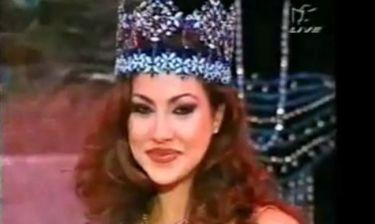 Flashback: Η στιγμή της στέψης της Μις Κόσμος 1996, Ειρήνης Σκλήβα