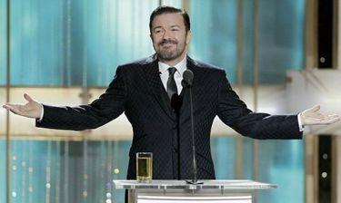 Ο Ricky Gervais και πάλι παρουσιαστής στις Χρυσές Σφαίρες