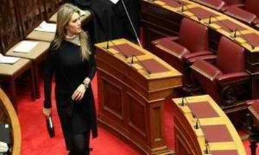 Τι tweet-αρε λίγο πριν την ομιλία της στη Βουλή η Εύα Καϊλή;