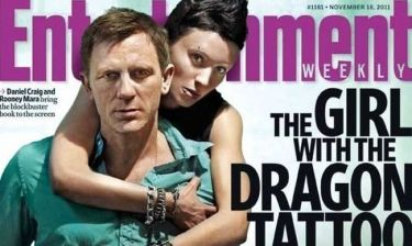 Daniel Craig και Rooney Mara στο εξώφυλλο του EW