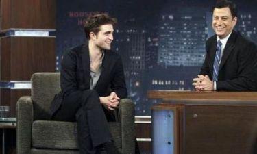Video: Ο Robert Pattinson από το Today Show στον Jimmy Kimmel
