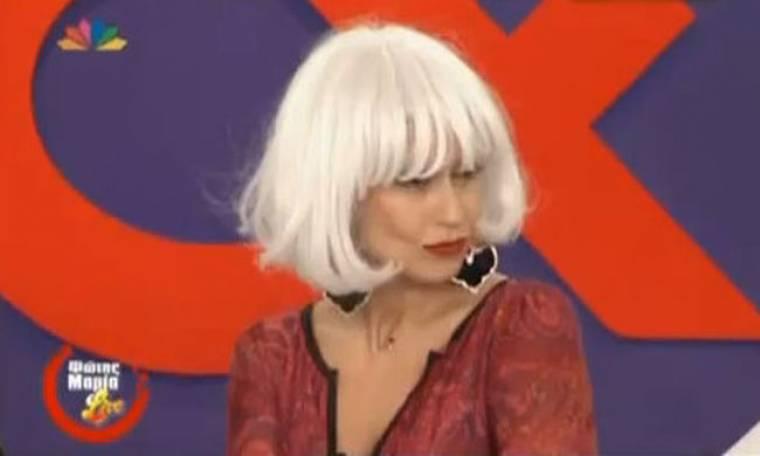 VIDEO: Η φάρσα της Μαρίας Μπακοδήμου στον Σάββα Πούμπουρα