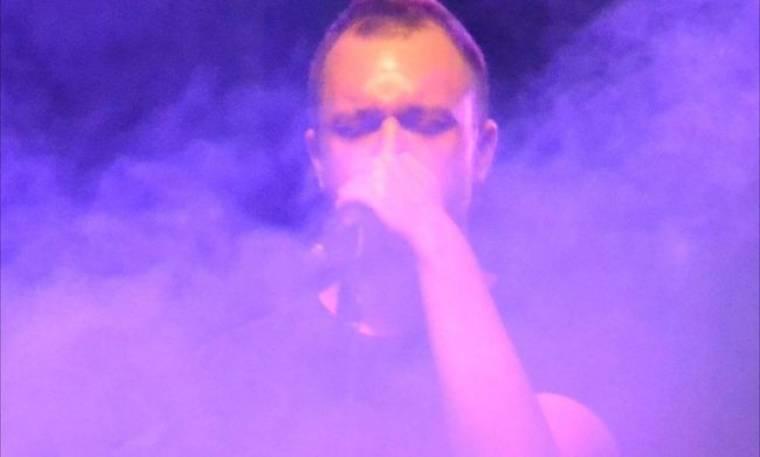 Ο Πάνος Γουργιώτης  στο «Rock 'n' Art» music live stage!