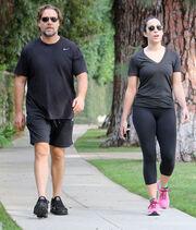Russell Crowe: Για τζόκινγκ στο πάρκο