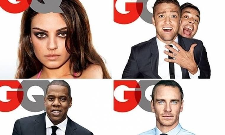 Η Mila Kunis και οι Άντρες της Χρονιάς στο GQ