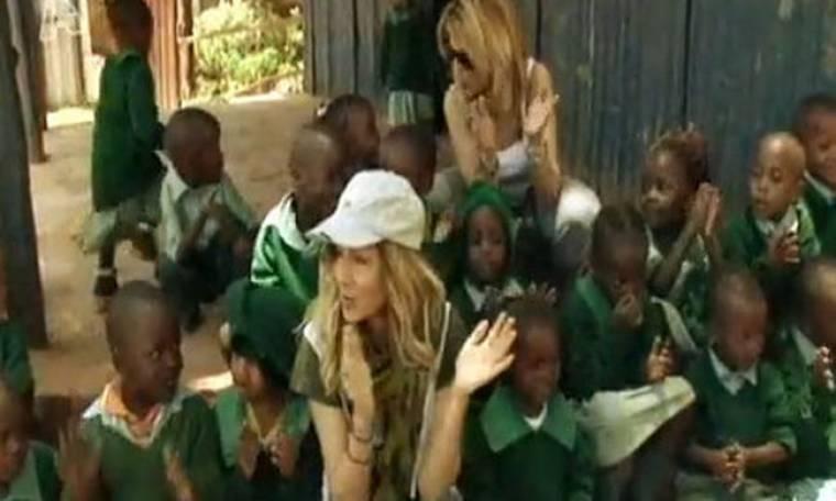 Video: Όταν η Άννα Βίσση βρέθηκε κοντά στα παιδιά της Κένυας