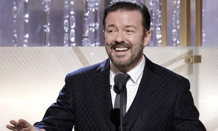 Και επίσημα παρουσιαστής στις Χρυσές Σφαίρες ο Ricky Gervais