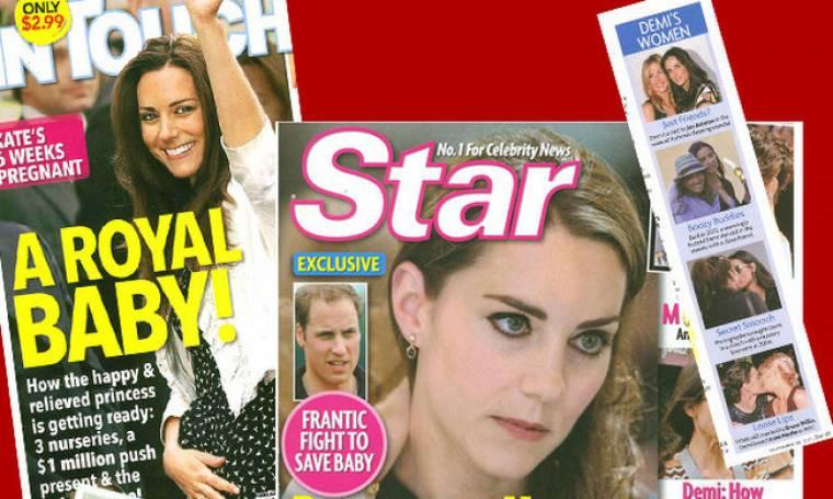Τα εβδομαδιαία κουτσομπολίστικα περιοδικά του εξωτερικού