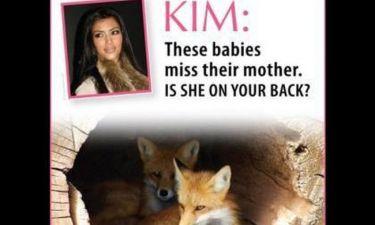 Η επίθεση της PETA στην Kim Kardashian