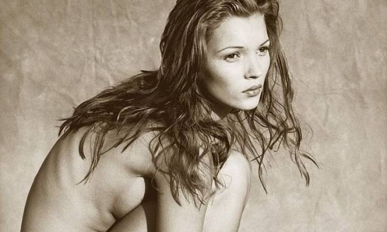 Kate Moss: 16.250 λίρες για γυμνή φωτογραφία της