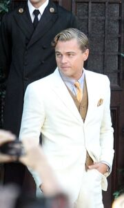 DiCaprio, Mulligan και Maguire στα πλατό του Great Gatsby