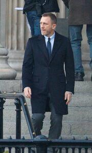 Ο Daniel Craig γυρίζει σκηνές για το Skyfall