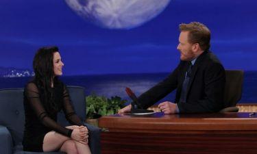 Video: Η Kristen Stewart στον Conan O Brien