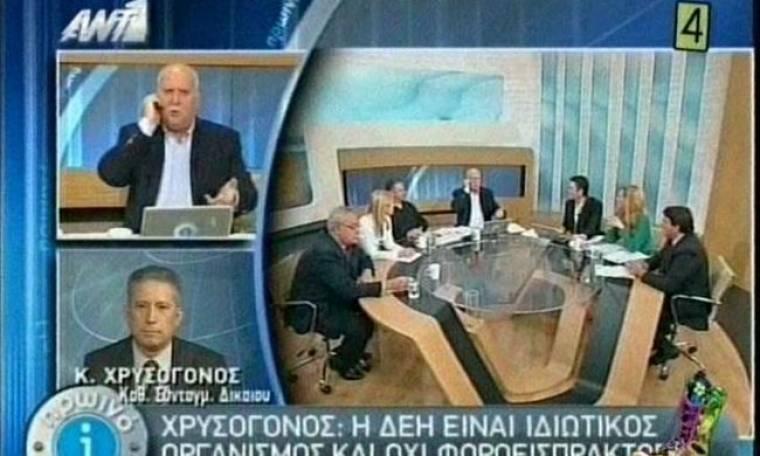 Το πονηρό τηλεφώνημα που δέχτηκε ο Γιώργος Παπαδάκης on air (video)