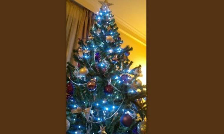 Ποια τραγουδίστρια στόλισε το χριστουγεννιάτικο δέντρο της;