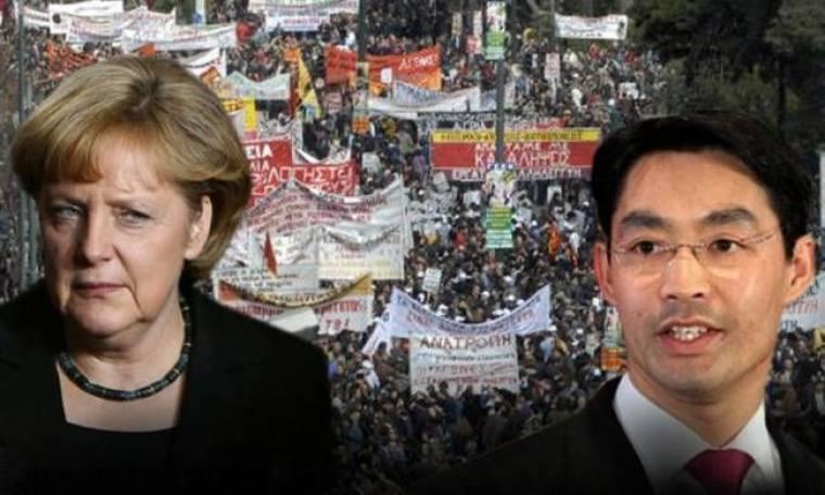Mόνιμο θέμα της Γερμανίας η Ελλάδα