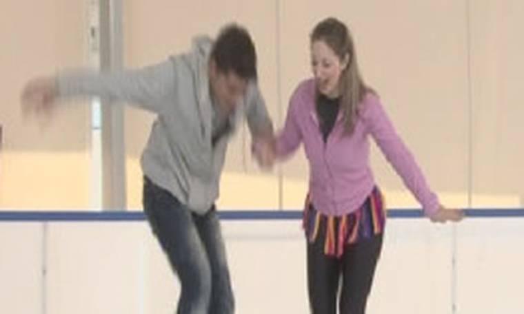Η Πρωινή Μελέτη πήγε για… Dancing on ice!