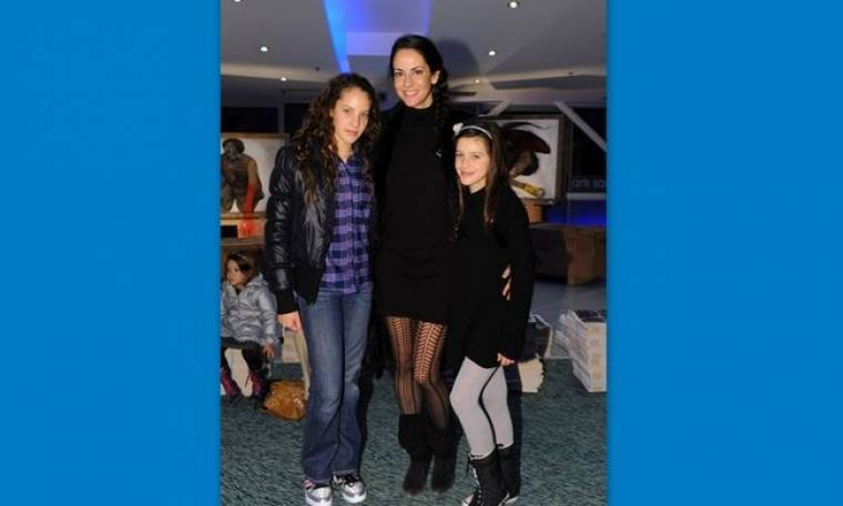 Εύη Αδάμ: Έξοδος με τις κόρες της