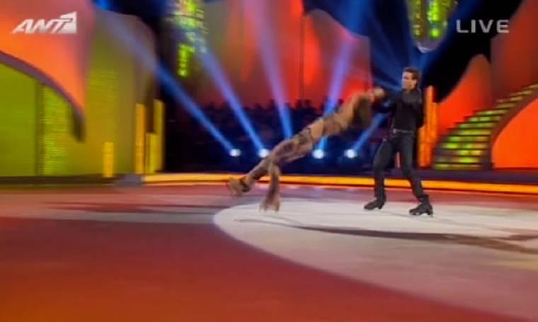 Σάγια: Η γαζέλα του «Dancing on ice»