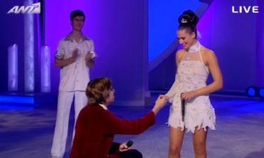 Απίστευτο: Η πρόταση γάμου του Αλεξέι στη Μαριάννα Καλλέργη on air