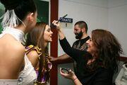 Backstage στο «Dancing on ice»