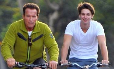 Arnold και Patrick Schwarzenegger: Ορθοπεταλιές για πατέρα και γιο