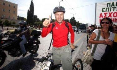Έκλεψαν το ποδήλατο του Γιώργου Αμυρά