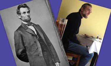 Ο Daniel Day Lewis ως Abraham Lincoln, η πρώτη φωτογραφία