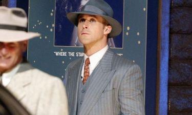 Βραδινά γυρίσματα για τον «γκάνγκστερ» Ryan Gosling