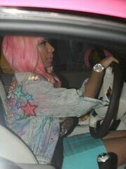 Η ροζ Barbie Bentley γνωστής τραγουδίστριας